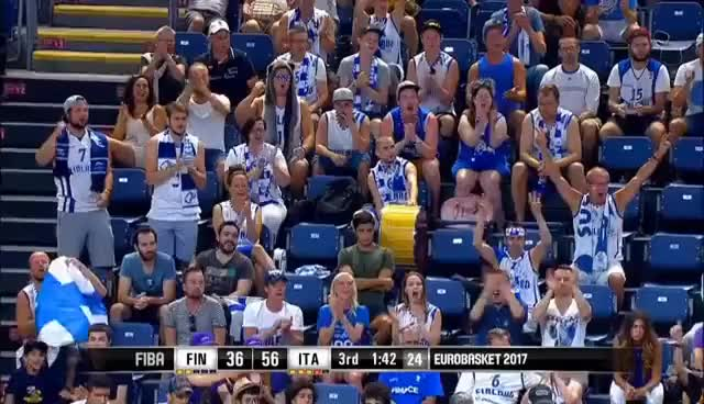 Watch Finland v Italy - Highlights - Round of 16 - FIBA EuroBasket 2017 GIF on Gfycat. Discover more related GIFs on Gfycat
