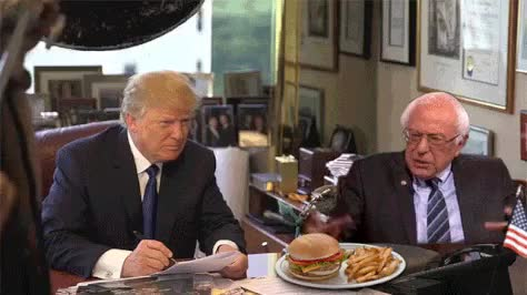 Watch and share Bernie Sanders GIFs by takenji1989 on Gfycat