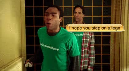 Watch and share Troy Abed Moments Troy And Abed GIFs on Gfycat