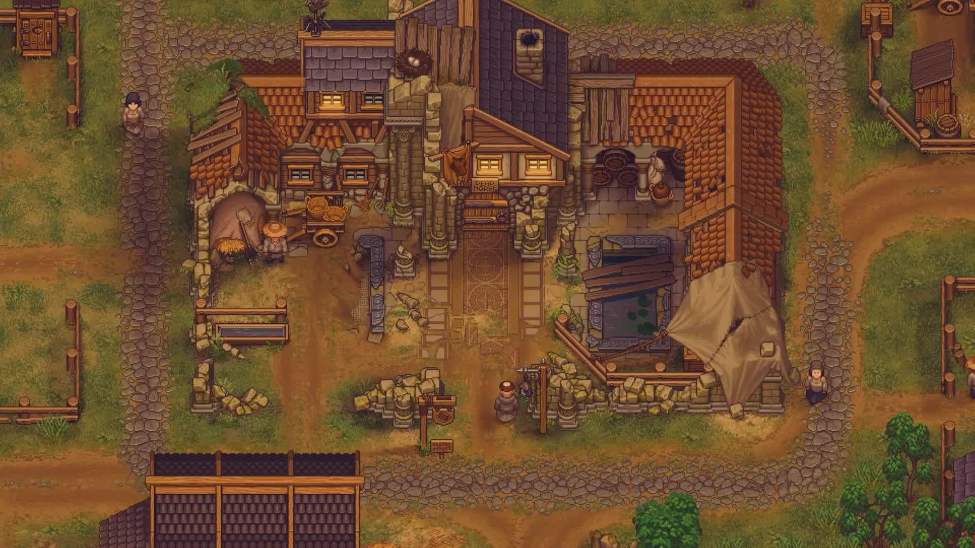 Gaming, graveyard keeper, launch, tinyBuildGAMES, trailer, Graveyard Keeper #01 GIFs
