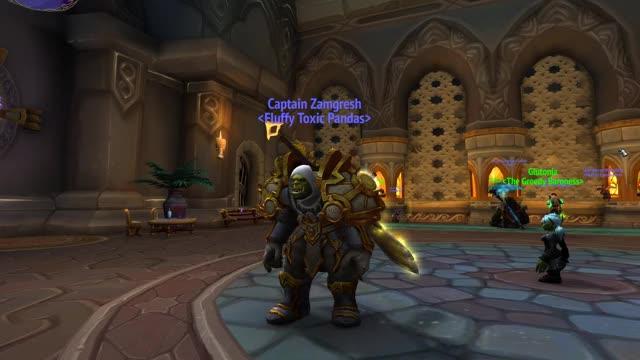 World Of Warcraft nodding