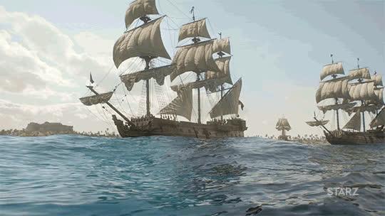 Sailing Ships GIFs
