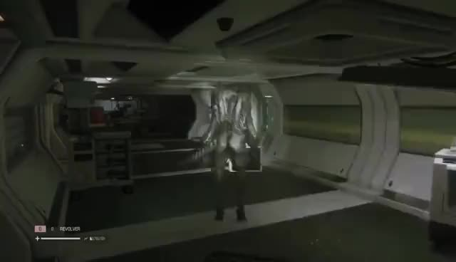 Watch and share Alien Isolation Funny Glitches GIFs on Gfycat