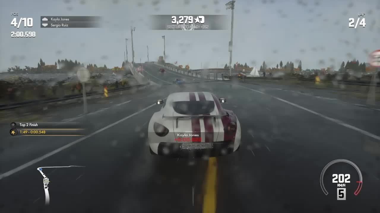 Driveclub, gaming, Doing a Norwegian overtake in driveclub (reddit) GIFs