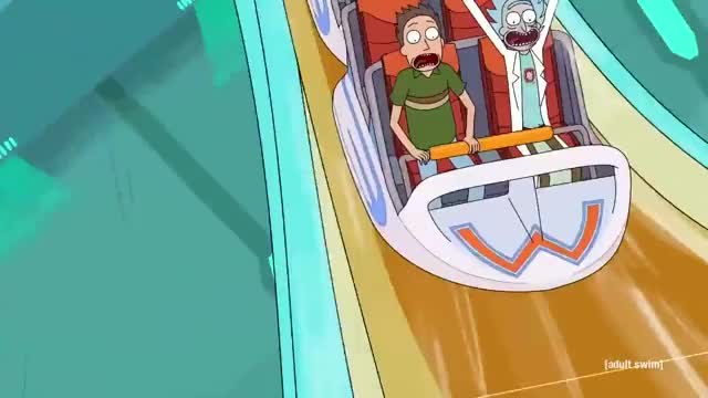 Watch and share Rick And Morty GIFs and Roller Coaster GIFs by Reactions on Gfycat