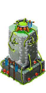 11 Animated Isometric Towers – 3 Levels Per tower GIFs