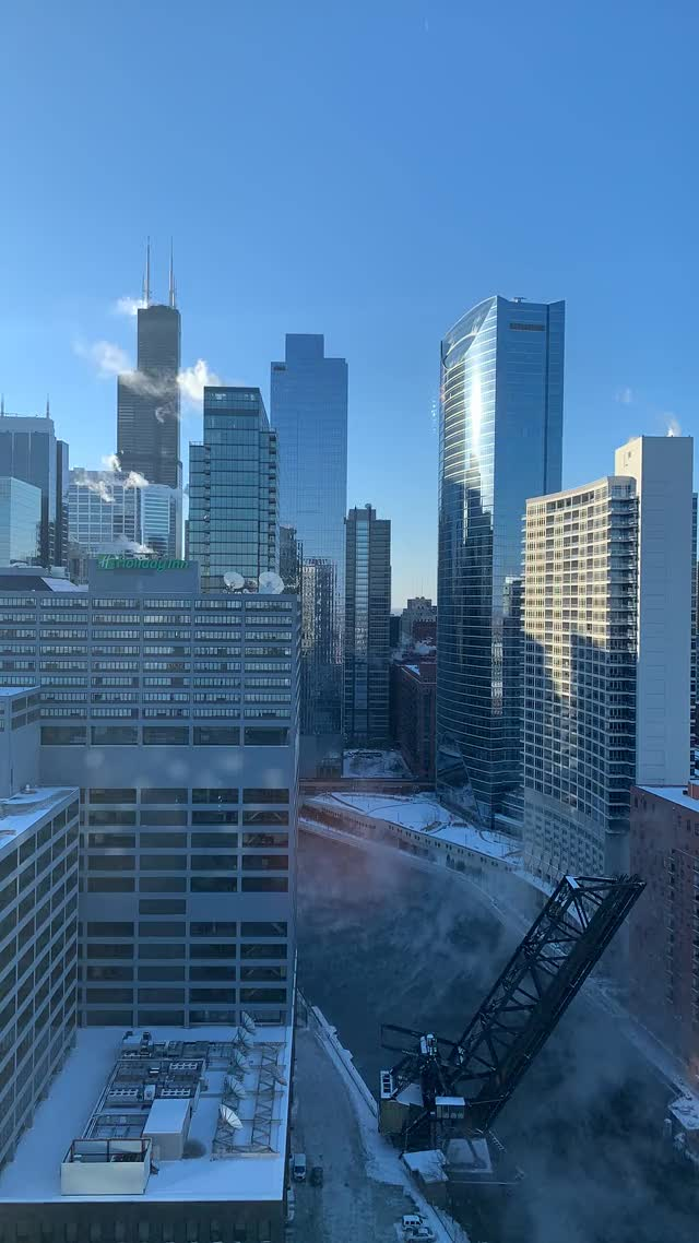Watch and share Chicago Polar Vortex Timelapse 4 GIFs by Anandymous on Gfycat