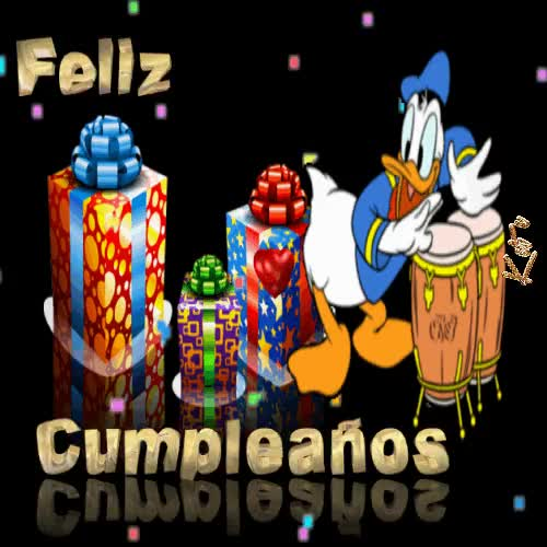 Watch and share Feliz Cumpleaños GIFs on Gfycat