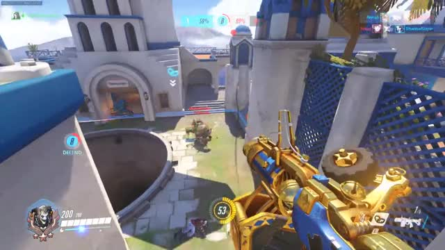 Overwatch junkrat play of the game video
