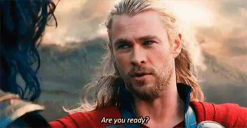 Watch this ready GIF on Gfycat. Discover more celebs, chris hemsworth, ready, thor GIFs on Gfycat