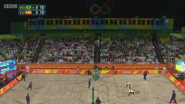olymgifs, Crazy Beach Volleyball Rally GIFs