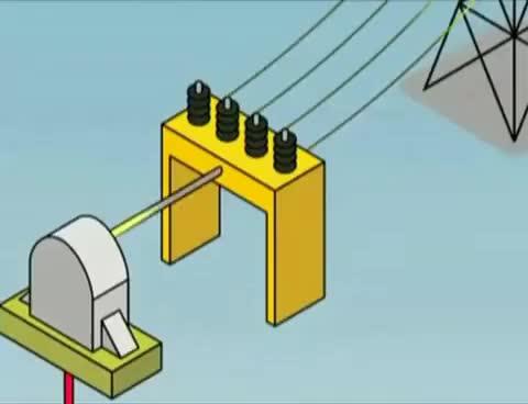 Watch and share ¿Cómo Funciona Una Central Hidroeléctrica? GIFs on Gfycat