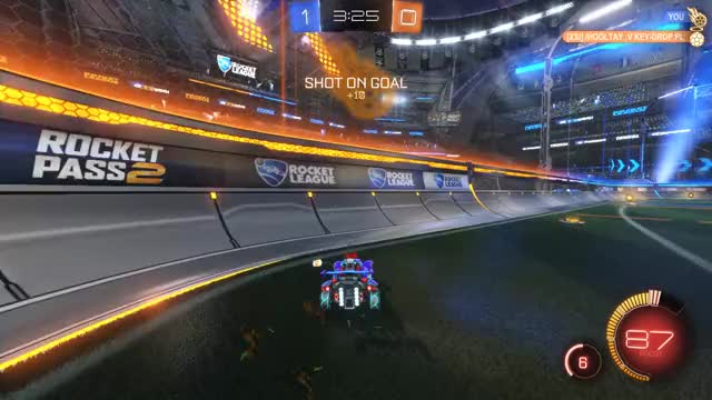 Watch and share Rocket League - Rumble Airstrike GIFs by CherryDashZero on Gfycat