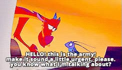 Watch and share Mine Disney Mulan *gif T Mushu Cri Kee GIFs on Gfycat