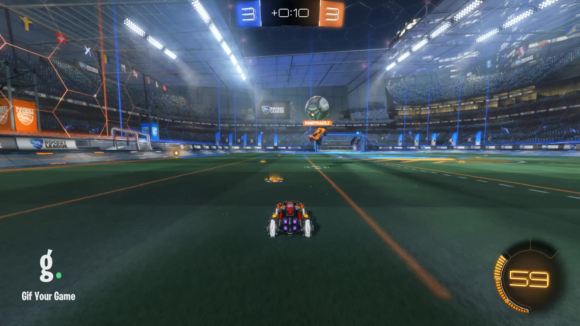 Gif Your Game, GifYourGame, Goal, Le Sloth (⊙ω⊙), Rocket League, RocketLeague, Goal 7: Le Sloth (⊙ω⊙) GIFs