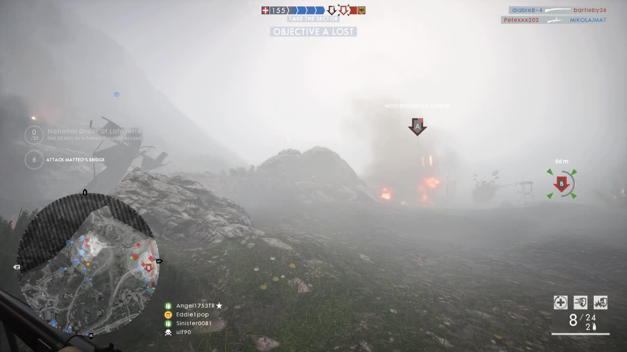 battlefield one, bf1, gaming, Oh you think the fog is your ally? GIFs
