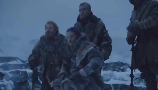 Watch The Frozen Lake Battle (Jon's Squad & Daenerys's Dragons vs White Walkers) - Game of Thrones S7E6 GIF on Gfycat. Discover more related GIFs on Gfycat
