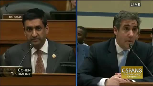 Watch and share Michael Cohen GIFs and Rep Ro Khanna GIFs by lawalker202 on Gfycat