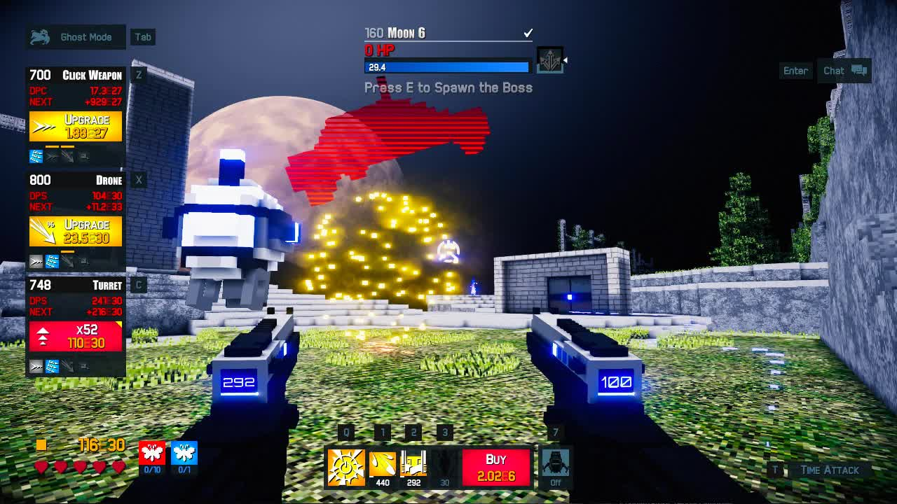 Clicker, FPS, Game, Idle, Incremental, Multiplayer, Proton Studio, RPG, Time Clickers 2, Time Warpers, Time Warpers Perk Drop Indicator GIFs