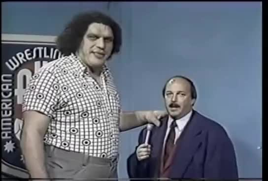 Watch and share André The Giant GIFs on Gfycat