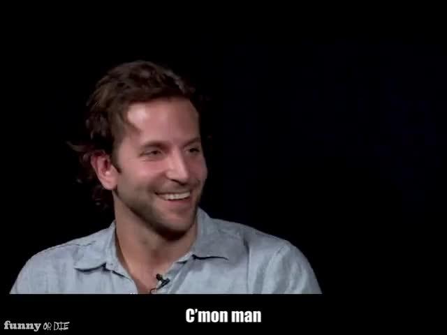 Watch ECHO GIF by Funny Or Die (@funnyordie) on Gfycat. Discover more Between Two Ferns with Zach Galifianakis Bradley Cooper, FoD, funny or die, funnyordie GIFs on Gfycat