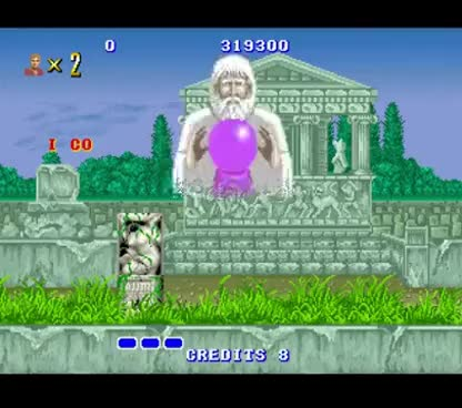 Watch and share Altered Beast (Arcade) - All Bosses/Cutscenes GIFs on Gfycat