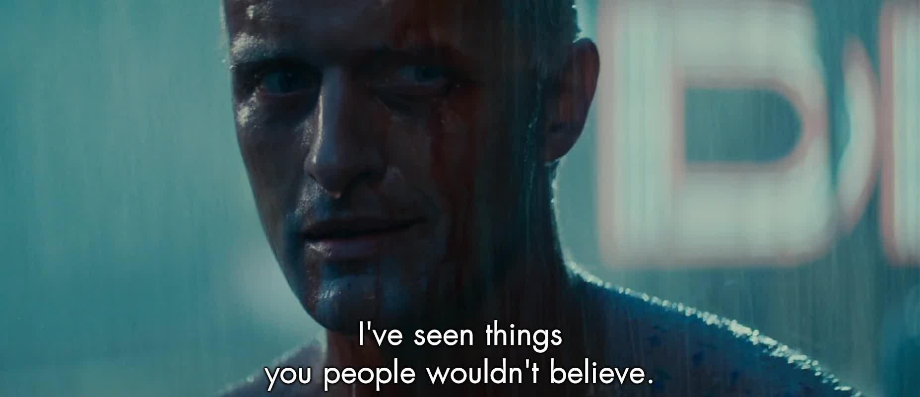 bladerunner, thisismylifenow, Blade Runner Quote gif GIFs