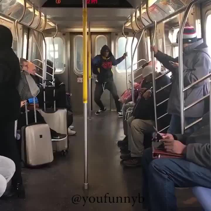 Dance, subway, Whoops! GIFs