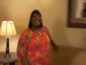 awesome, donna meagle, excited, happy, omg, parks and rec, retta, yay, Retta OMG GIFs