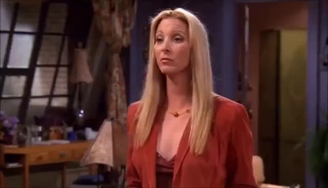 Watch and share Friends - HD - Phoebe, Monica And Tim GIFs on Gfycat