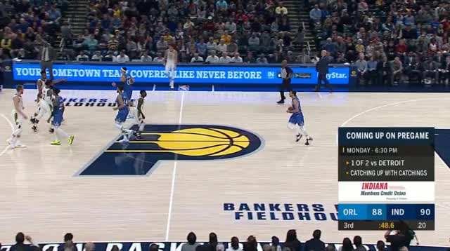 Watch and share Indiana Pacers GIFs and Orlando Magic GIFs by prejuce on Gfycat