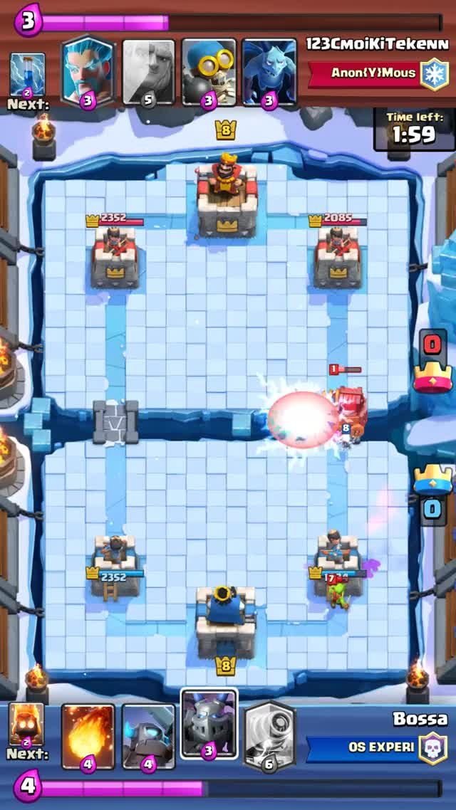 Watch Clash Royale - Ultimate Skeleton GIF by @b0ssa on Gfycat. Discover more ClashRoyale, clashroyale GIFs on Gfycat
