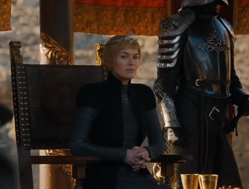 cersei lannister, game of thrones, lena headey, waiting, Some Time Cersei Lannister GIFs