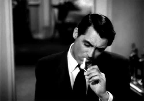 Watch and share #cary #carygrant #smoke #smoking #cigarette #papieros GIFs on Gfycat