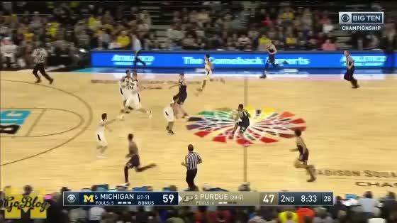 Watch and share Charles Matthews GIFs and Jordan Poole GIFs by MGoBlog on Gfycat