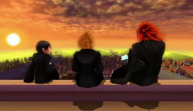 Watch and share Kingdom Hearts GIFs and Roxas GIFs on Gfycat
