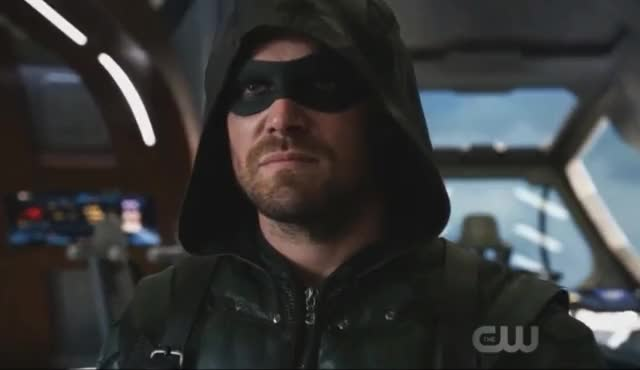 Watch this trending GIF on Gfycat. Discover more arrow, celebs, crossover, cw, funny, grant gustin, season 4, season 6, stephen amell, the flash GIFs on Gfycat