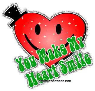 Watch and share You Make My Heart Smile Keep Smiling animated stickers on Gfycat