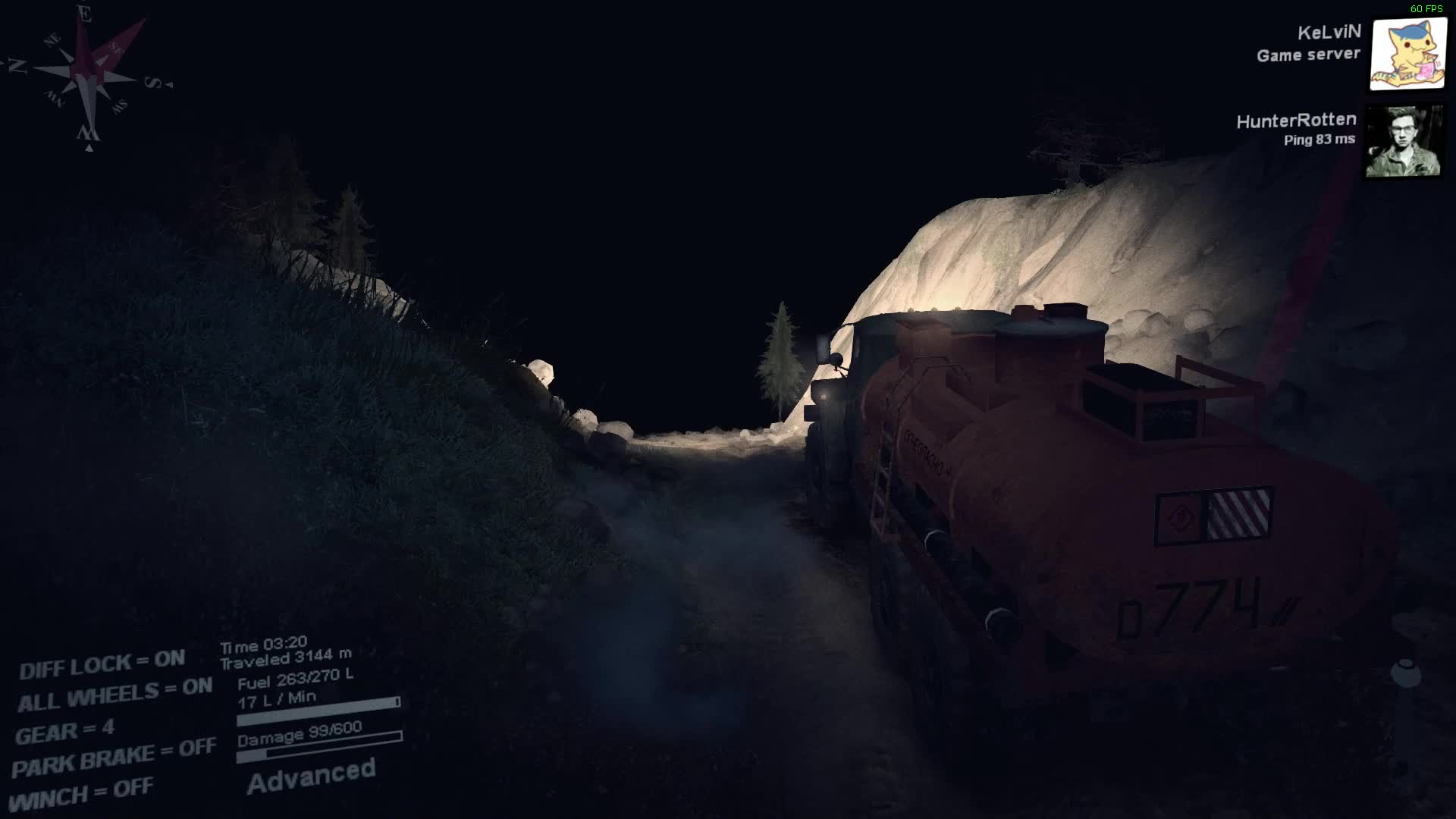 Spintires™ | Enraging roll over. GIFs