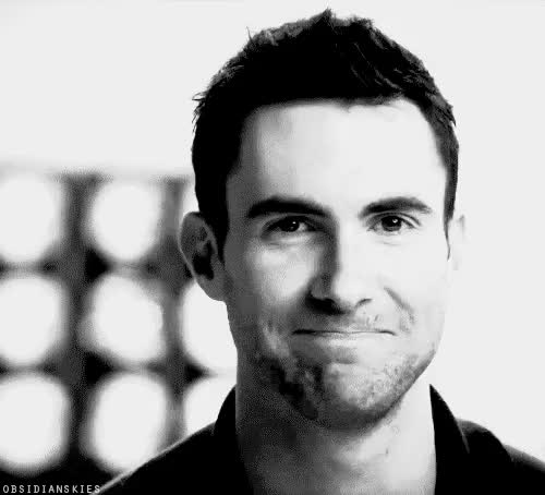 Watch this trending GIF on Gfycat. Discover more Adam Levine, cute, smile, swettie GIFs on Gfycat