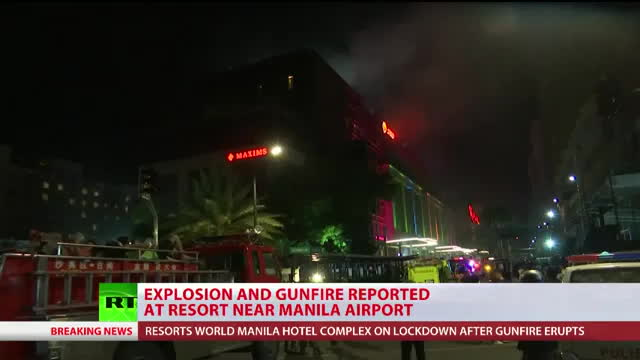 At least 25 wounded in apparent ISIS attack on Resorts World GIFs