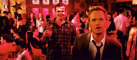 Watch and share Barney Dancing On How I Met Your Mother TGIF Thank Gif It's Friday. GIFs on Gfycat