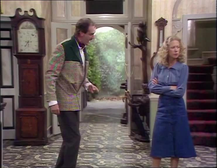 ass whooping, automutilation, bad, bad boy, basil fawlty, fawlty towers, john cleese, naughty, naughty boy, punish, punishing, self punishment, smack butt, Fawlty Towers S01E02 - spanking GIFs