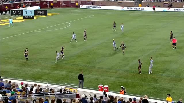 Watch and share Build Up To Minnesota Goal GIFs by Evercombo on Gfycat