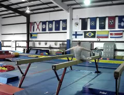 Watch balance beam GIF on Gfycat. Discover more gymnastics GIFs on Gfycat