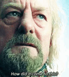 bernard hill, celebs, lord of the rings, lotr,  GIFs