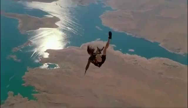 Skydiving / Point Break 1991 GIFs