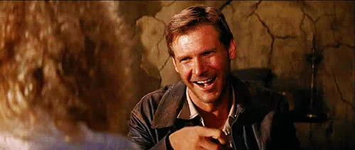 popcorn harrison ford indiana jones GIFs