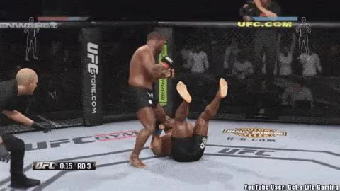 mixed martial arts, mma, The realism of EA Sports MMA -mma gif collection | MMAFury GIFs