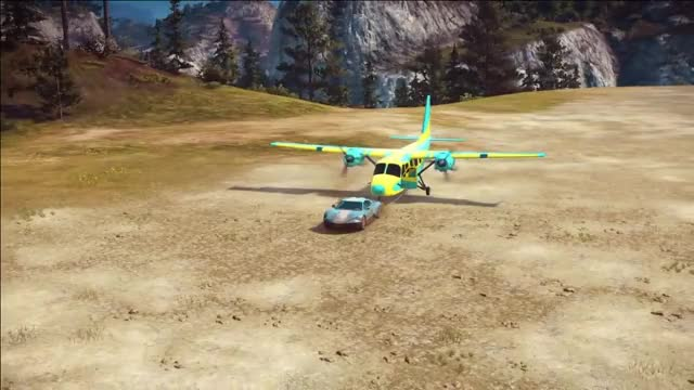 Watch Flying Car vs Stingray Area - Just Cause 3 Challenge GIF by ThePyrotechnician (@thepyrotechnician) on Gfycat. Discover more jc3, jc3mp, just cause 3, just cause 3 challenges, just cause 3 stunt montage, just cause 3 stunts, plane from a car, plane from a plane, plane from a train, thepyrotechnician GIFs on Gfycat